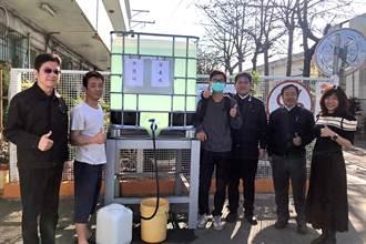 《造紙股》正隆助抗疫,竹北廠免費提供消毒水