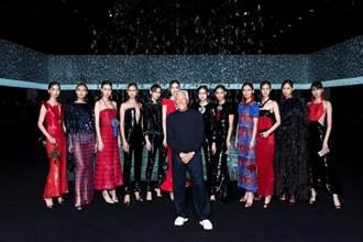 Giorgio Armani 米蘭時裝周大黑特黑