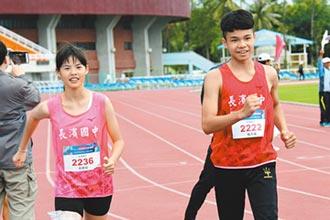 5000公尺競走 長濱國中雙破紀錄