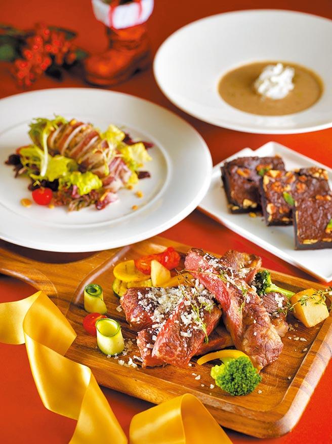 微風自營餐飲「TRINE & ZEN」,可透過微風APP訂候位。(微風提供)