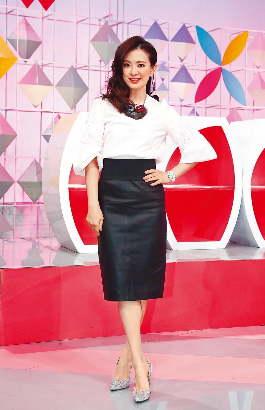 劉真每次上節目都美麗如昔,令人訝異她的健康亮紅燈。(資料照片)