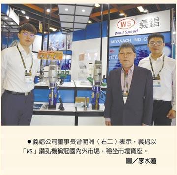 WS義錩鑽孔機 提升營建鋼構產業發展