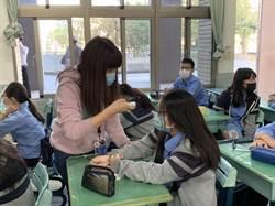 7000名學生 明道開學進教室量體溫