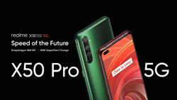 realme發表旗下首款5G手機X50 Pro 5G與AIoT戰略