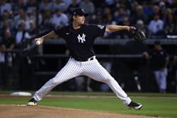 MLB》洋基寇爾亮相 逆天快速球K兩人