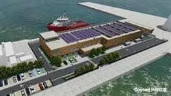 沃旭與台中港簽20年租約 打造綠建築運維中心