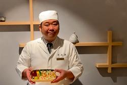 便當盒美到不捨動筷 福島隆史獻台饕客「蟹壽司便當」