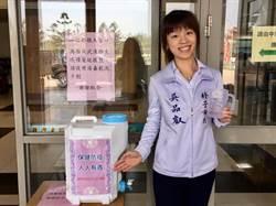 酒精搶購潮未消退 朴子市長自購抗菌液助民眾防疫