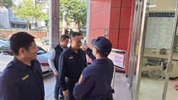 警政署長陳家欽赴基隆 視察警方防疫工作