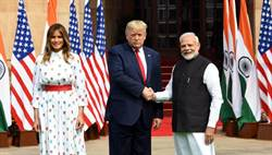 川普訪印 莫迪:美印關係提升至全球夥伴
