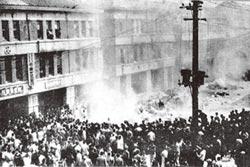 聽聞台灣動亂 親人聲聲催返陸