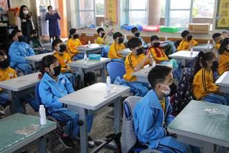 僑育國小嚴格防疫 再贈兒童口罩套
