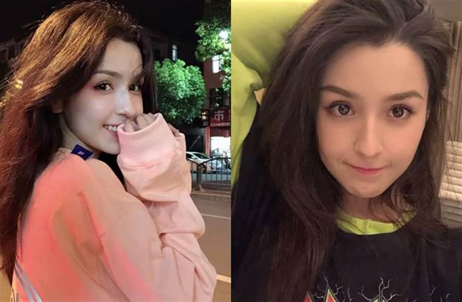 哈妮克孜是新疆美女代表。(圖/取材自哈妮克孜微博)