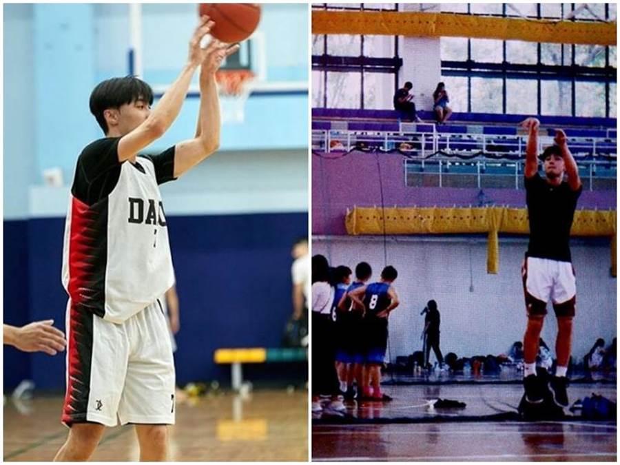 施柏宇打籃球英姿。取自IG