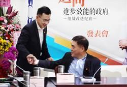 黨主席參選人相見 郝、江出席呂學樟新書發表會