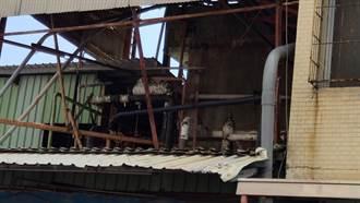 台東老牌製冰廠氨氣再度外洩 消防到場灑水