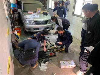羅東警方出擊 破獲地下槍枝改造工廠