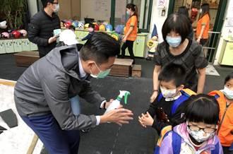 市長林智堅稽查幼兒園  要求交通車消毒不馬虎