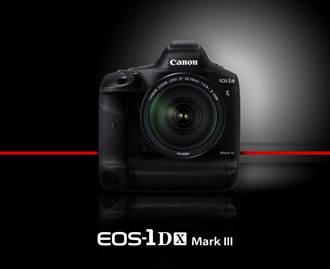 專業攝影就靠它 Canon全片幅數位單眼EOS-1D X Mark III開賣