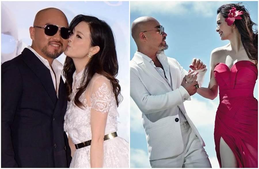 辛龍與劉真可說是演藝圈的模範夫妻。(圖/中時資料照)
