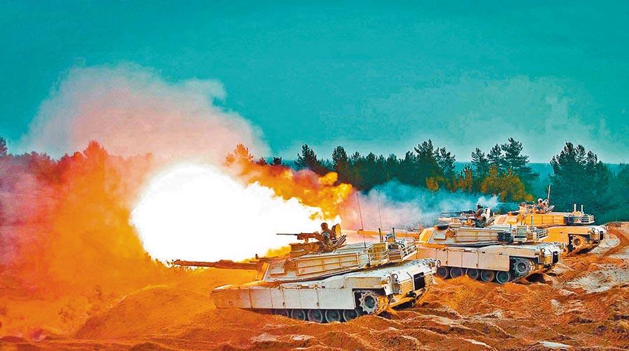 台灣2019年獲美國軍售的M1A2坦克。(取自美國陸軍官網)