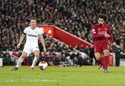 英超首冠差4勝 利物浦本周繼續衝