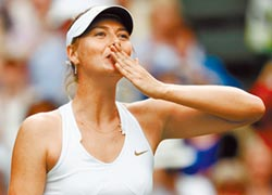 網球女神 莎娃宣布退休