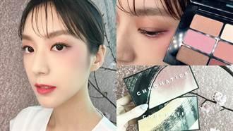 換季從眼妝開始!限量九色眼影「櫻花盤、夜櫻盤」一抹打造春季粉嫩妝容