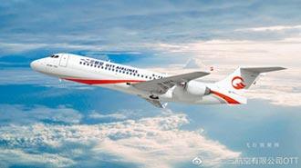 一二三航空揭牌 全採陸產飛機
