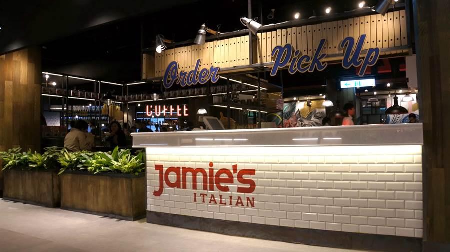 開在台北信義區新光A11館的Jamie's Italia義大利餐廳,自2016年起營運至今最後一天。(圖/姚舜)