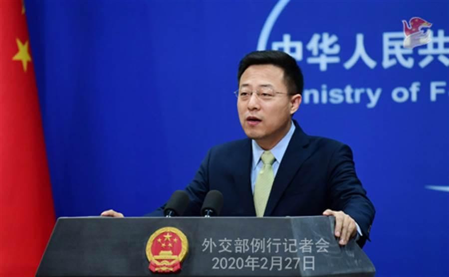 大陸外交部發言人趙立堅表示,中方願盡己所能,向韓國、日本提供力所能及的幫助。(圖/大陸外交部)