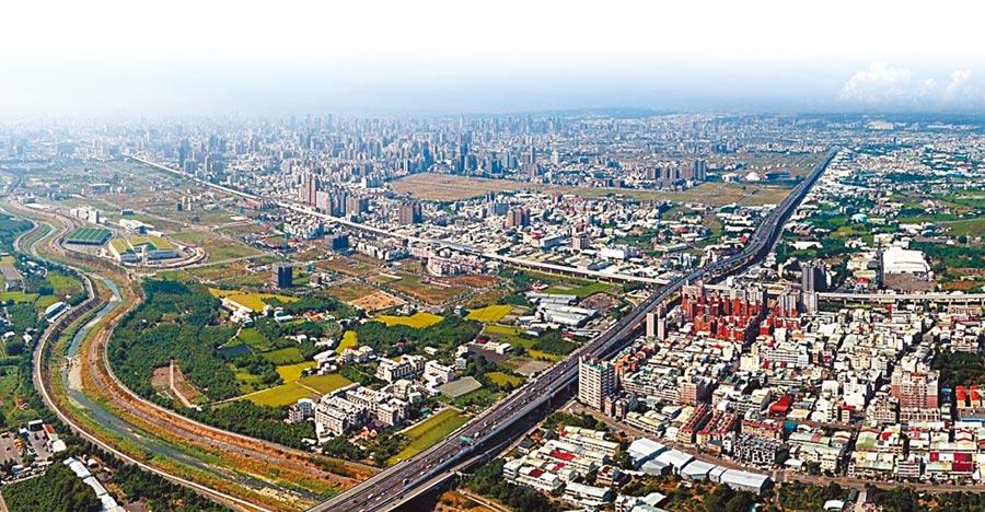 台中市交通建設持續到位,也帶動沿線房市商機。圖/黃繡鳳