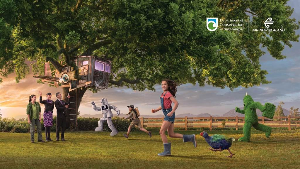 紐西蘭航空全球同步發表全新飛行安全宣導短片「A Journey to Safety一起安心啟航」。圖:業者提供