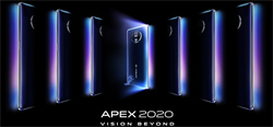 vivo發表概念手機APEX 2020 120度無界全視屏超美