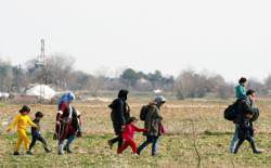 土耳其火大開放邊界 大批難民湧入歐洲
