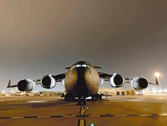 印度出動C-17 送物資到武漢