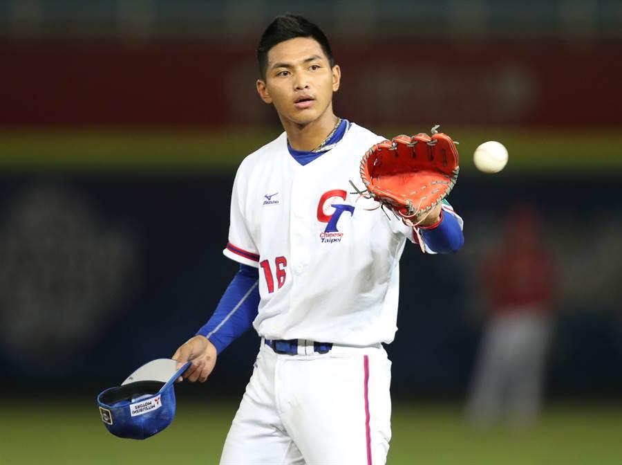 台灣20歲小將劉致榮,目前在紅襪農場排名中居第15名。(中央社資料照)