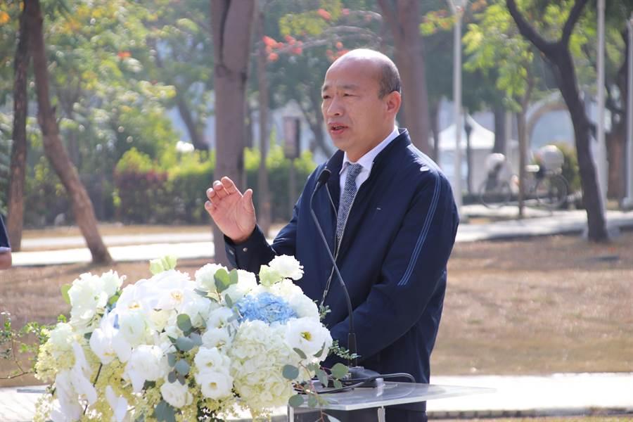 高雄前市長韓國瑜。(洪浩軒攝)
