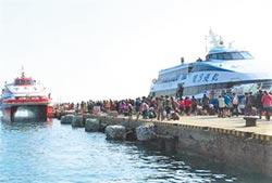 澎湖防疫 海空運嚴量體溫