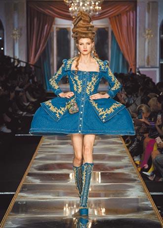 蓬袖流蘇當道 米蘭時裝周走秀直播