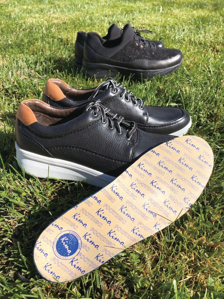 擁有一雙KIMO德國品牌健康鞋,快樂走跳一整天。圖/業者提供
