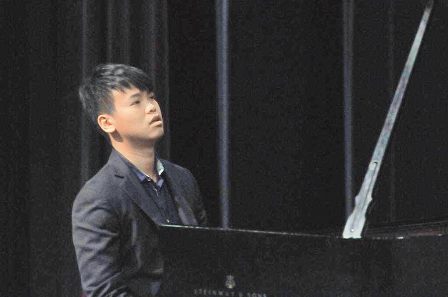旅美鋼琴家簡孟軍。圖片提供Estampe Piano Trio
