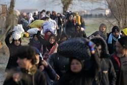 土耳其開邊界  大量難民湧往希臘