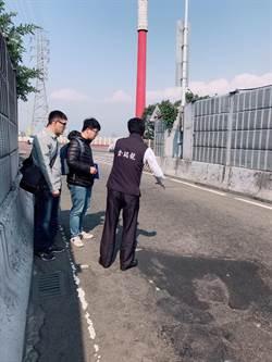 華中橋橋和路引道路面破損 議員爭取預計3月底前重鋪