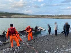 驚險一瞬間 台東膠筏遭浪打翻獲救