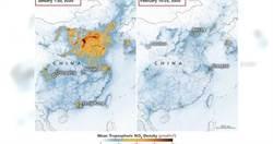 疫情意外效應  NASA最新大陸「二氧化碳衛星對比圖」超清澈