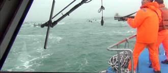 兩岸船艇金門「海戰」  海巡開槍嚇退大陸船團