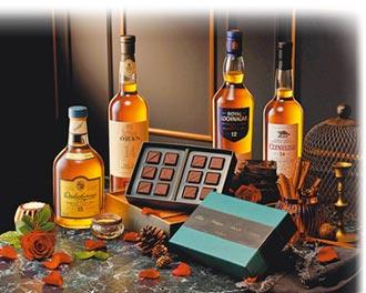 帝亞吉歐×畬室 再推威士忌巧克力