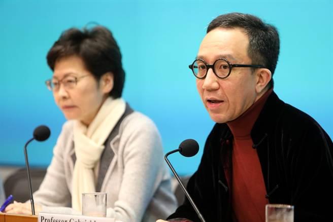 香港大學醫學院院長梁卓偉估算,1例死亡案例恐代表當地有100人確診,他認為全球技術上已出現新冠肺炎大流行。(資料照/中新社)