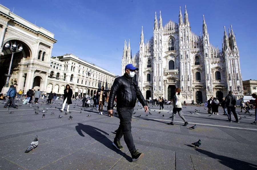 義大利新冠肺炎疫情惡化。(資料照/美聯社)
